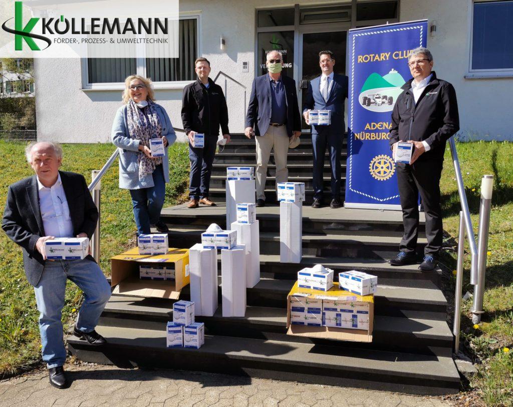 Köllemann spendet FPP2 Masken